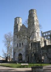 Jumièges, Rouen, Falaise, Caen, Abbayes aux Hommes, Normandie Médiévale